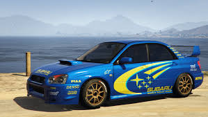 subaru rally drift subaru impreza wrx sti 2004 world rally team livery gta5 mods com