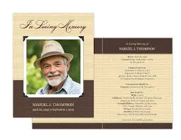 memorial bookmarks funeral card template beneficialholdings info