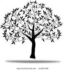black tree black birds vector illustration stock vector 300330149