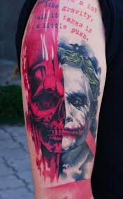 joker tattoo clipground