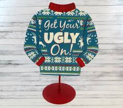 the partiologist ugly christmas sweater cookies
