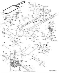 husqvarna cth163t 96051001700 2011 05 parts diagram for mower