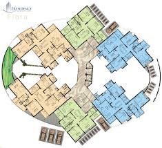 Duplex Layout by Presidency Flora 2 3 5 Bedroom Flats Apartments Ranging From