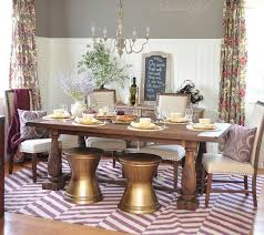 rustic refined dining room centsational style