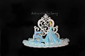 cinderella cake toppers cinderella birthday party cake toppers page two birthday wikii