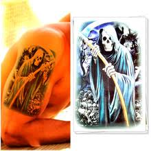 buy death tattoo and get free shipping on aliexpress com