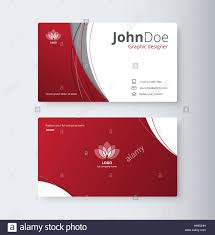 Abstract Business Cards Curve Abstract Business Card Background Name Card Template
