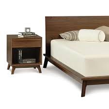 Catalina Bedroom Furniture Catalina Modern Wood Platform Bed Solid Maple Or Walnut Wood
