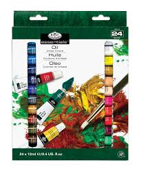 royal u0026 langnickel rgou24 24 color gouache paint set ebay
