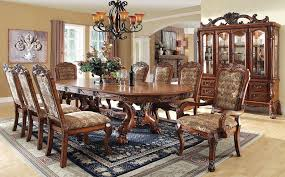 elegant formal dining room sets formal dining room sets for 10 great double square pedestal legs