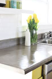 Kitchen Countertop Materials by Best 25 Concrete Countertop Sealer Ideas On Pinterest Diy