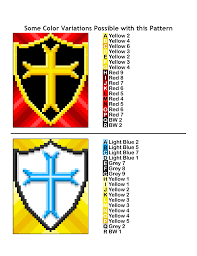 Blue And Yellow Cross Flag 0193quilt 2 Png
