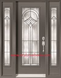 Steel Exterior Doors With Glass Cheap Entry Doors With Side Lights Doors Steel Entry Doors
