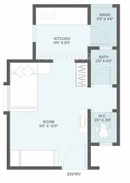 400 sq ft 1 bhk floor plan image dbs affordable home umang