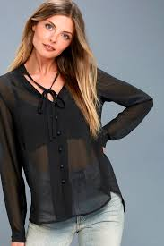 black button blouse pretty black blouse button up blouse sleeve blouse