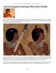 information on egyptain hairstlyes for and the ethiopian culture of ancient egypt hairstyle fashion food rec