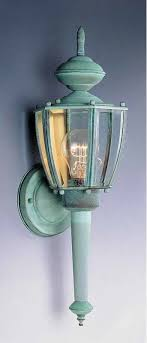 verde green outdoor wall light volume lighting v9211 1 light 18 25 height outdoor wall sconce with