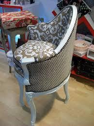 tissu pour fauteuil crapaud l u0027atelier créa fauteuil de comptable d u0027époque
