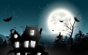 scary moon wallpaper desktop
