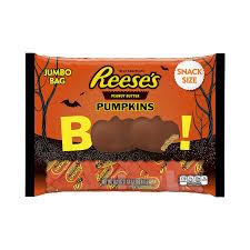 halloween pumpkin bag amazon com reese u0027s peanut butter halloween pumpkin milk