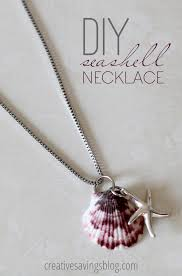 shell necklace making images Diy seashell necklace make your own seashell jewelry png