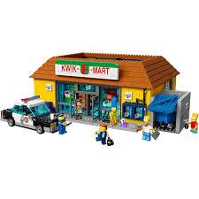 Simpsons House Floor Plan Lego The Simpsons The Kwik E Mart Walmart Com