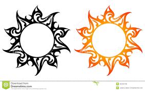 vector ornaments abstract sun stock vector image 49334728