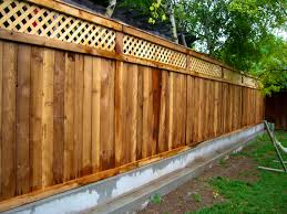 Cheap Backyard Fence Ideas by Decoration Fetching Impressive Fencing Ideas Inspirational Home