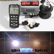 2x white 1300 lumen 50w cree 1156 p21w ba15s led bulbs for reverse