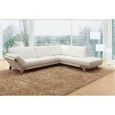 White Italian Leather Sectional Sofa Casa Lidia Modern White Italian Leather Sectional Sofa