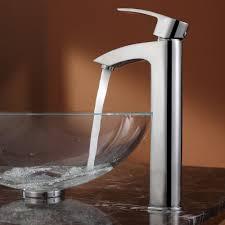 bathroom best vessel sink faucets for elegant bathroom decor