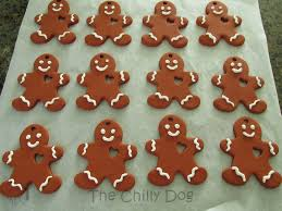 gingerbread ornaments tutorial clay gingerbread ornaments the chilly dog