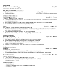 human services resume templates basic resume examples for students 70 images simple resume