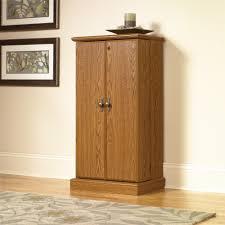 wood media storage cabinet orchard hills multimedia sauder with tv