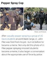 Pepper Spray Meme - 25 best memes about pepper spray pepper spray memes