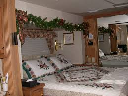 home decoration simple master bedroom christmas decoration