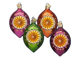 world ornaments assorted fashion reflector glass