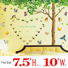 Wall Stickers For Home Decoration by Colorful Decals 7 4 U0027 H X 9 7 U0027 W More Attachments For