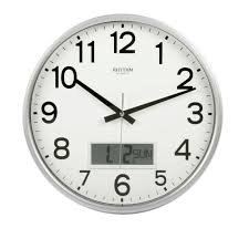 silent wall clocks creative decoration silent wall clocks rhythm satin silver office