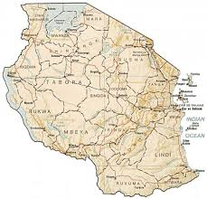Tanzania Map Map Of Tanzania By Phonebook Of Tanzania Com