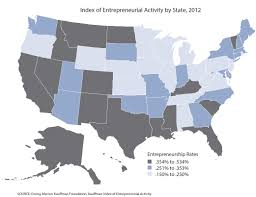 United States Map Activity by Eda Investments Supporting Entrepreneurship And Job Creation