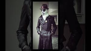 rorschach cosplay u0026 real moving mask youtube