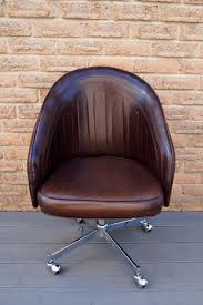 Leather Office Desk Chair Chic Diy Painted Leather Office Chair