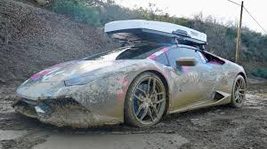 off road lamborghini 800hp lambo goes off roading car ruined youtube