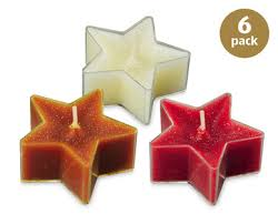 Star Shaped Scented Tea Lights Aldi Great Britain Specials Archive