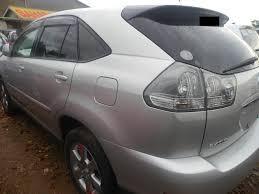 toyota lexus 2004 toyota harrier 2004 silver africa uganda business travel shop