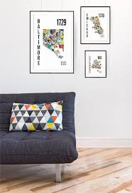 St Louis Modern Furniture by St Louis City Map Poster U2013 Jhill Design Map Prints