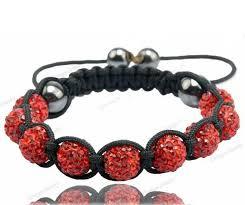 shamballa bracelet price images Red shamballa bracelet jpg