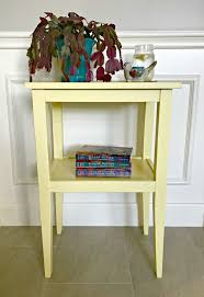 Build A End Table Plans by Build A Pretty Diy Side Table For Less Than 20 Win Abbotts At