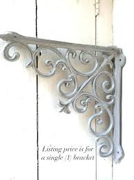 decorative brackets for shelves style decorative shelf brackets